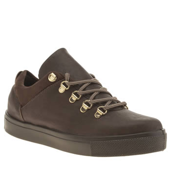Womens Schuh Tan Mozzer Trainers