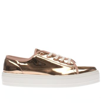 Schuh Rose Gold Creep Platform Metallic Ii Womens Flats