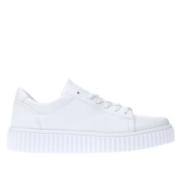 Schuh White Fun And Games Womens Trainers