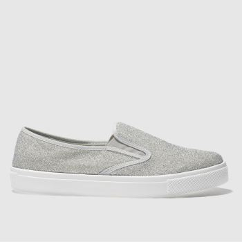 Schuh Silver Awesome Womens Flats