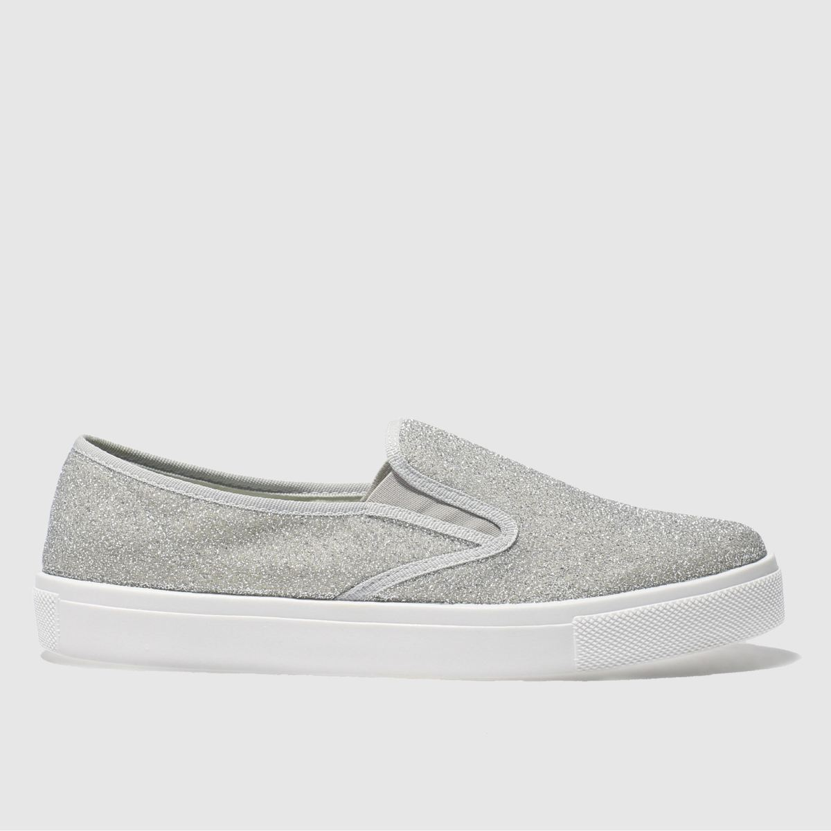 Schuh Silver Awesome Flat Shoes