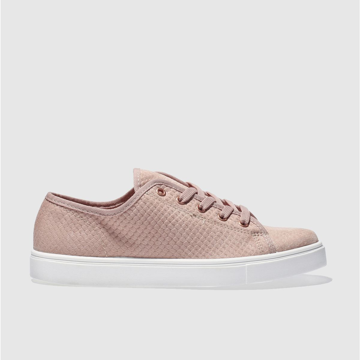 schuh pale pink next level trainers