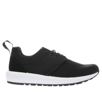 Schuh Black Easy Peasy Womens Trainers