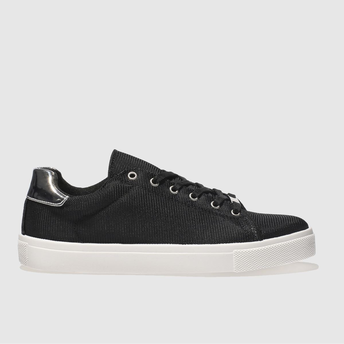 Schuh Black & White Rising Star Trainers