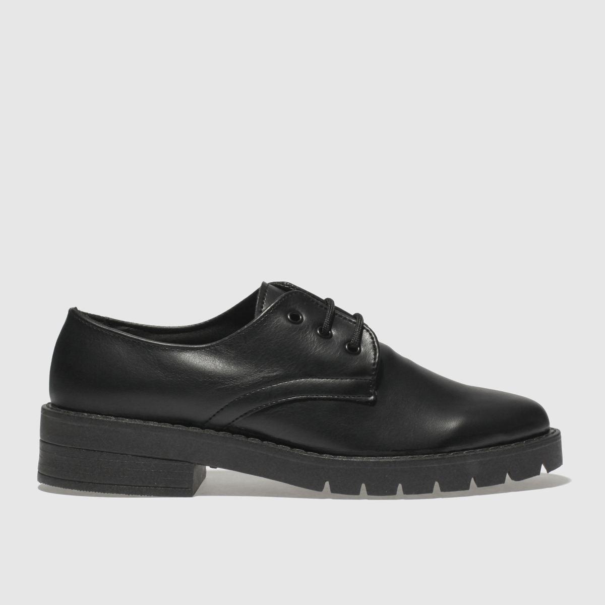Schuh Black Confident Flat Shoes