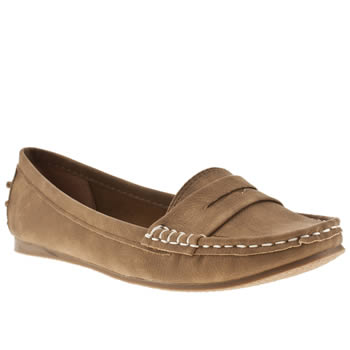 womens schuh tan cruise driving mocc ii flat shoes