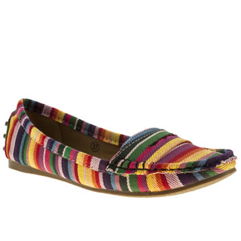 Womens Schuh Multi Cruise Driving Mocc Ii Flats