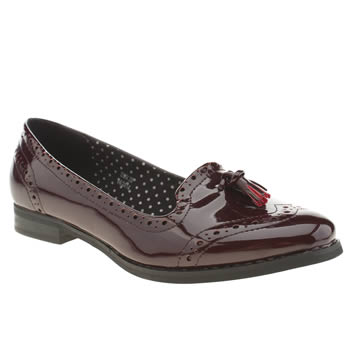 Womens Schuh Burgundy Dreams Flats