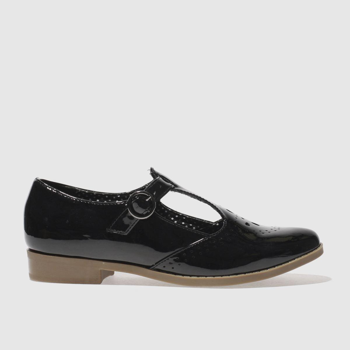 schuh Schuh Black Pretty Baby Flat Shoes
