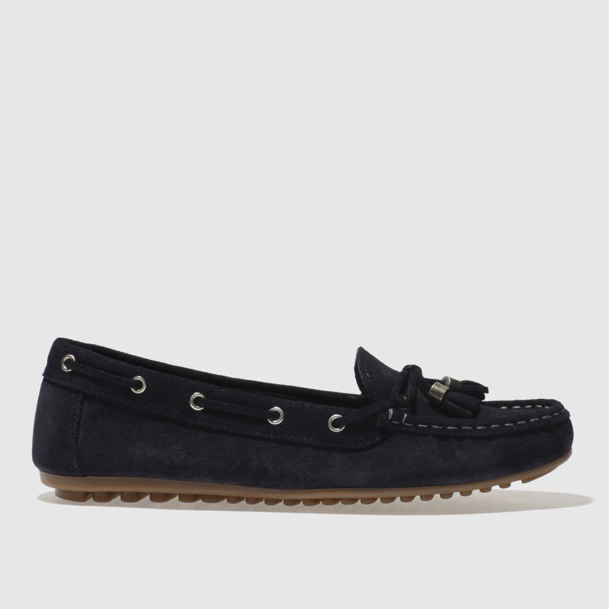 Schuh Navy Spin Around Flat Shoes