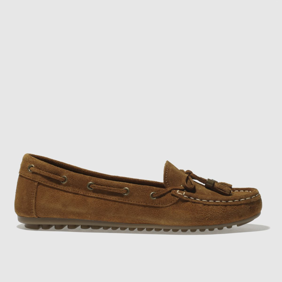 Schuh Tan Spin Around Flat Shoes
