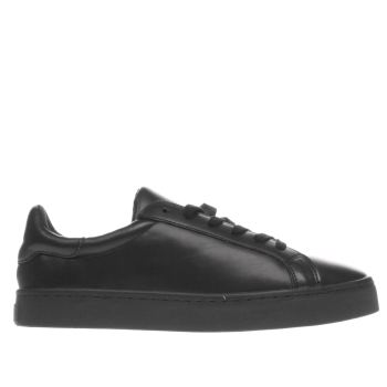 Schuh Black Volley Womens Flats