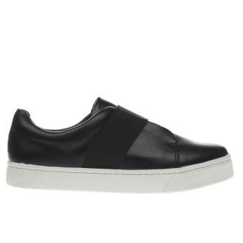 Schuh Black & White Cheerleader Flats