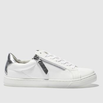 Schuh White & Silver NINJA Trainers