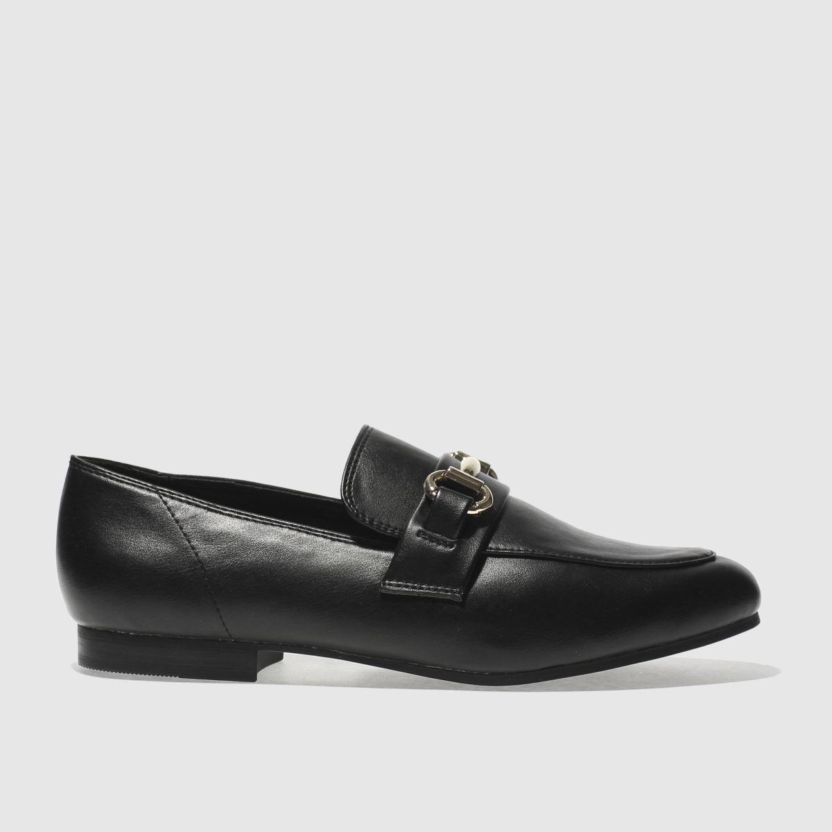 schuh Schuh Black Dapper Flat Shoes
