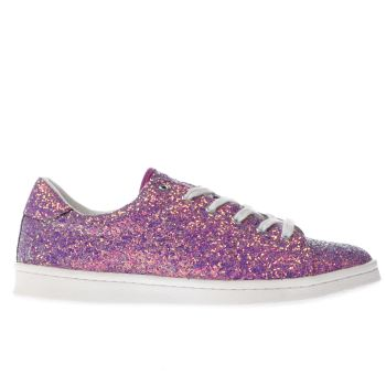 Schuh Purple Trapeze Womens Trainers