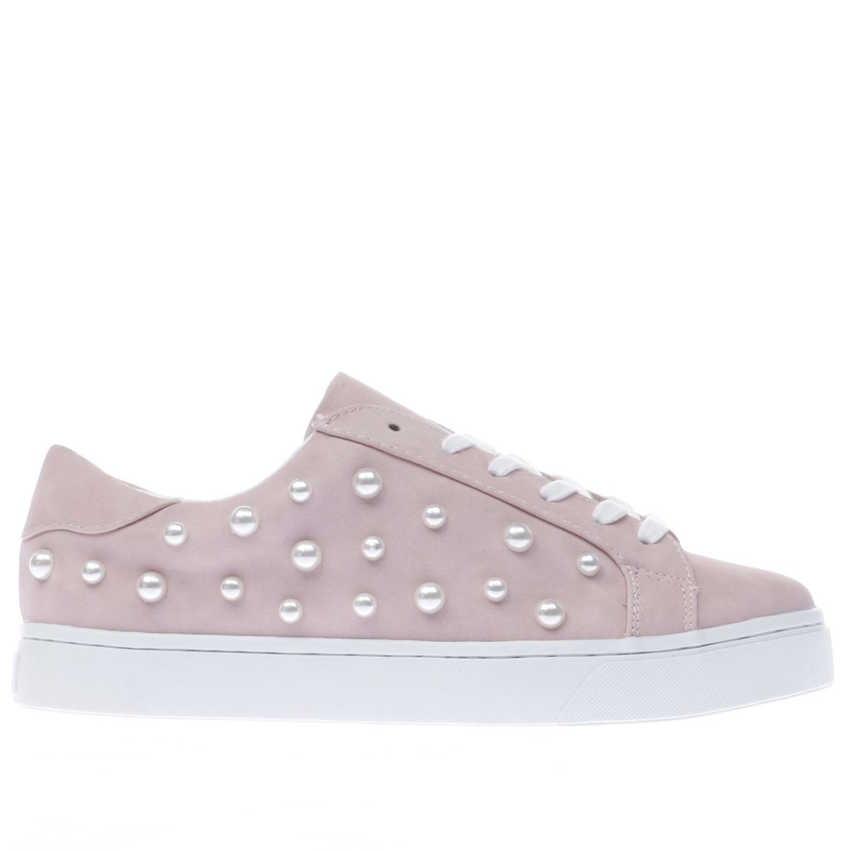 schuh pale pink sprinkle flat shoes