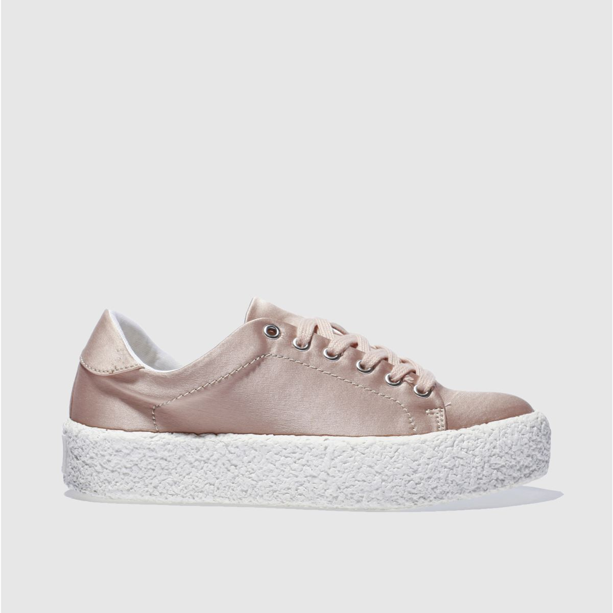 schuh pale pink perfect match flat shoes