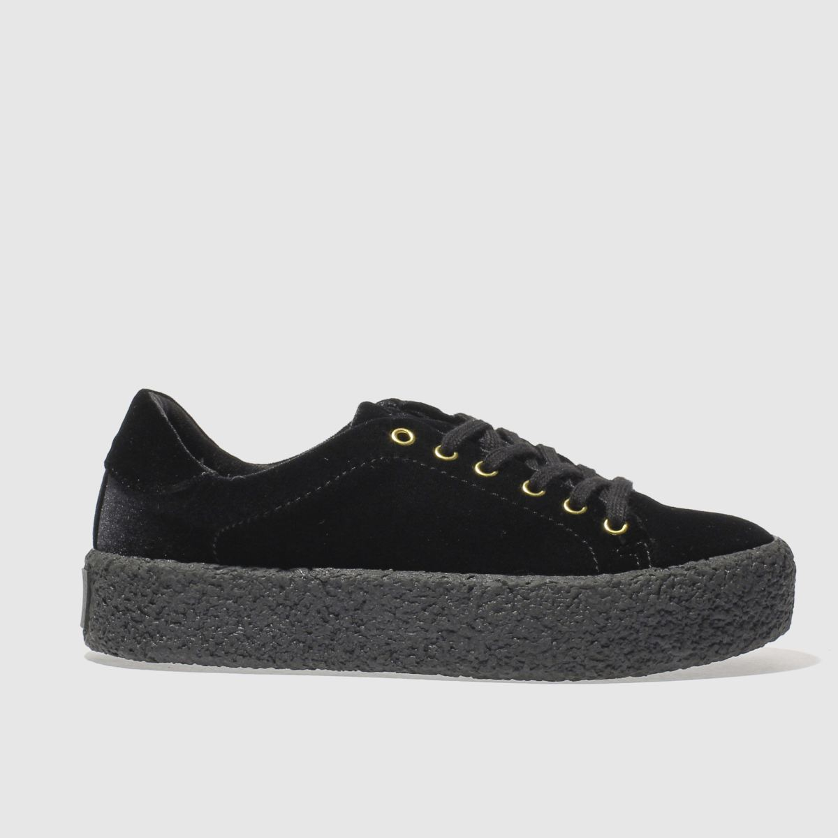 schuh black perfect match flat shoes