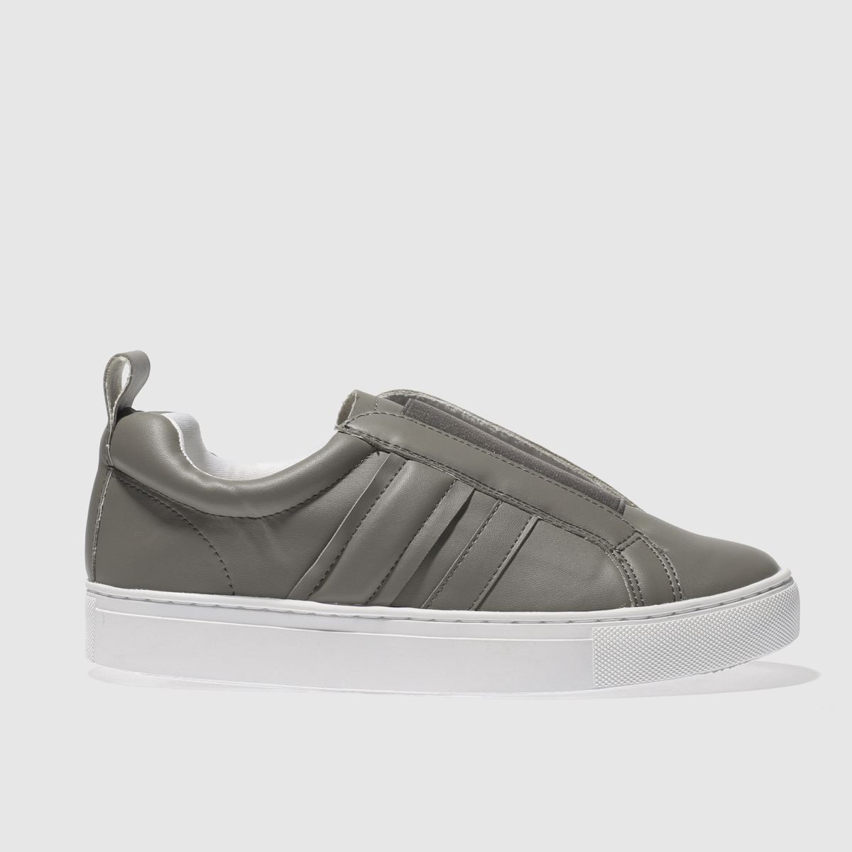 schuh grey circus trainers