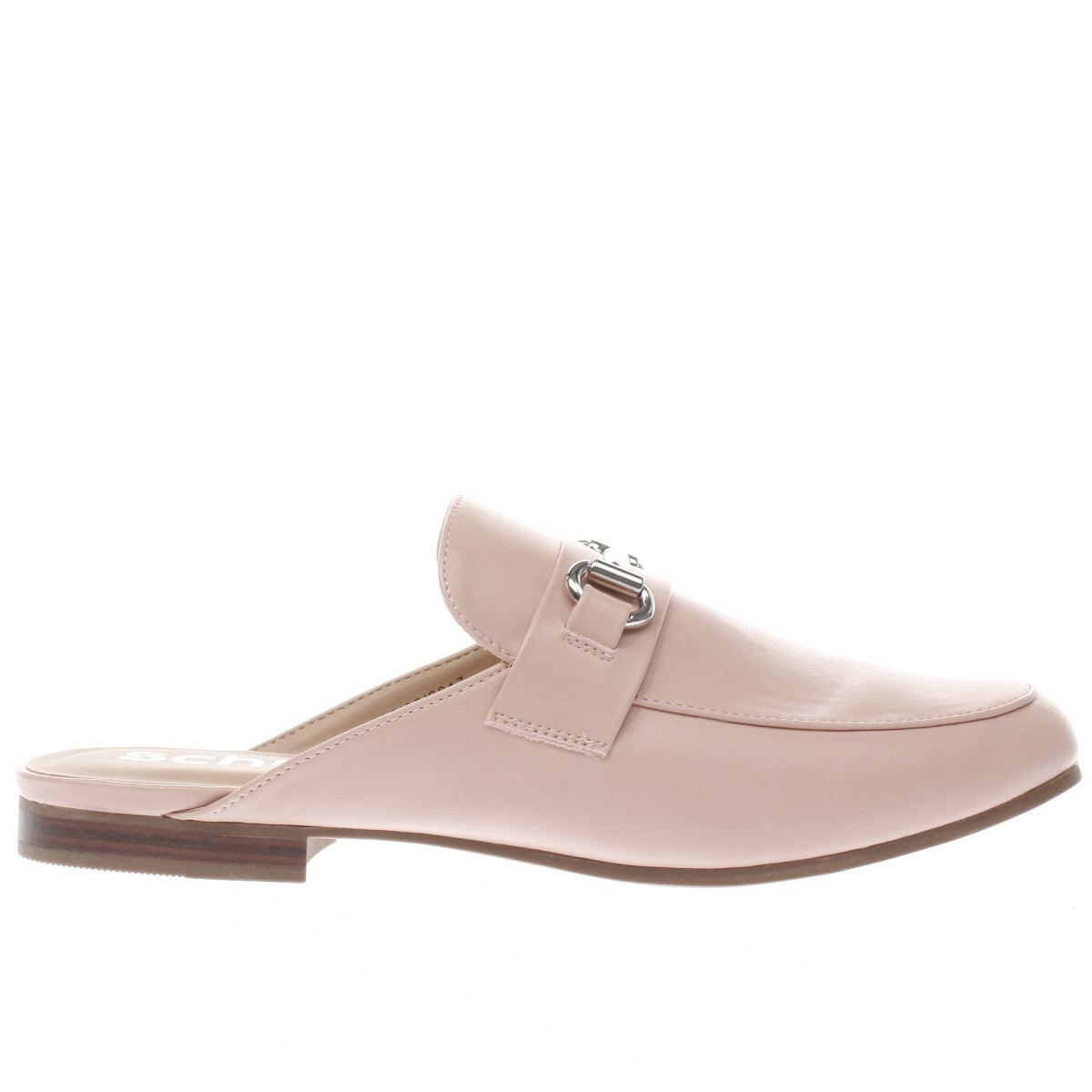 schuh pale pink posh flat shoes