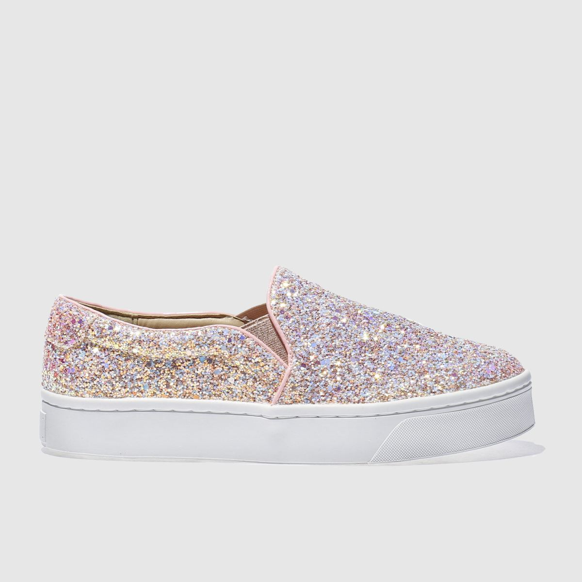 schuh Schuh Pale Pink Discotheque Ii Flat Shoes