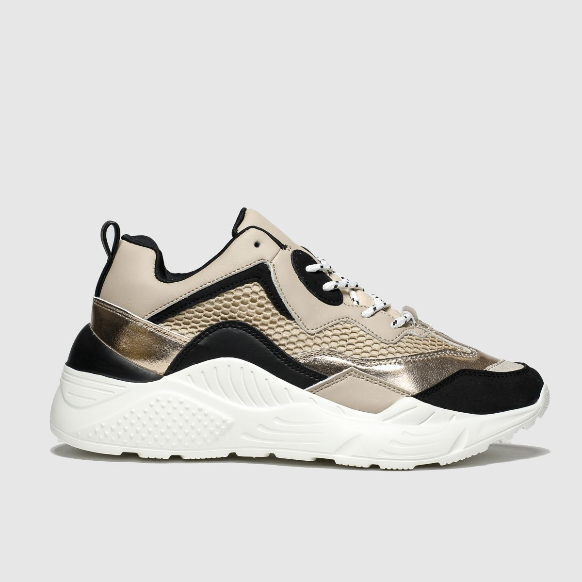 schuh Schuh Bronze Flair Trainers