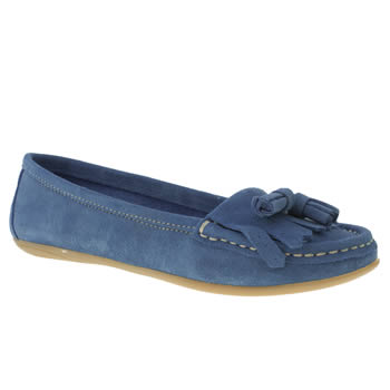 womens schuh blue wizard flat shoes
