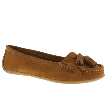 womens schuh tan wizard flat shoes