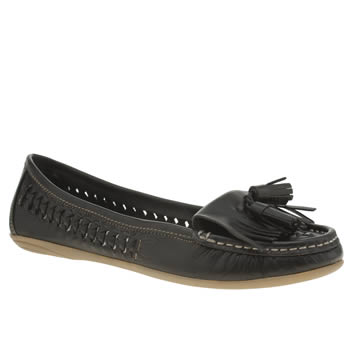 SCHUH BLACK TIDE FLAT SHOES