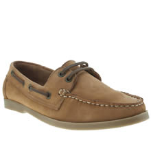 Schuh Tan Kirby 2 Eye Boat Shoe Ii Womens Flats