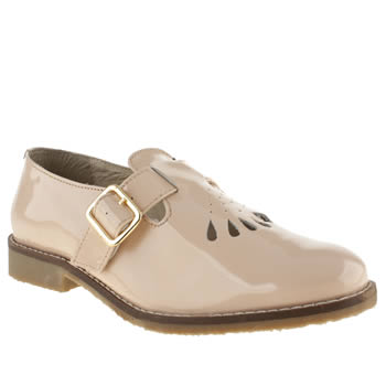 womens schuh natural sweet pea flat shoes