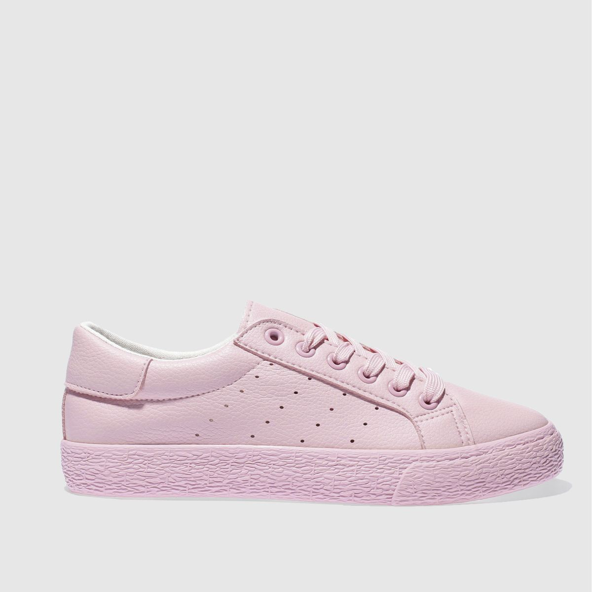 schuh pale pink remix trainers
