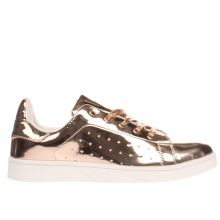 Schuh Bronze Miss Jackson Womens Trainers