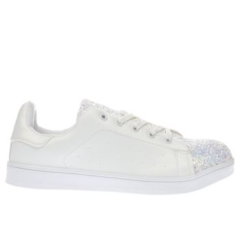 Schuh White Miracle Womens Trainers