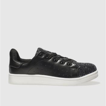 Schuh Black Miracle Womens Trainers