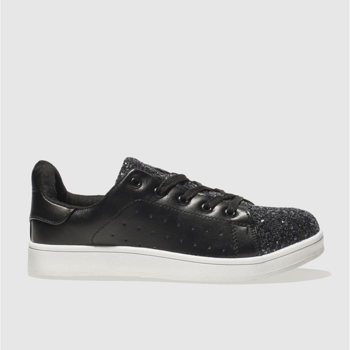 schuh black miracle trainers