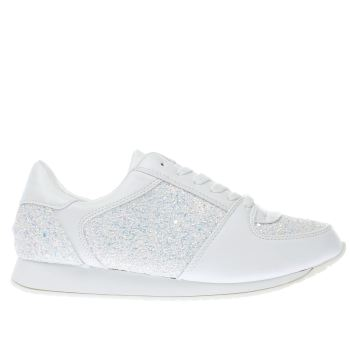 Schuh White Vision Womens Trainers