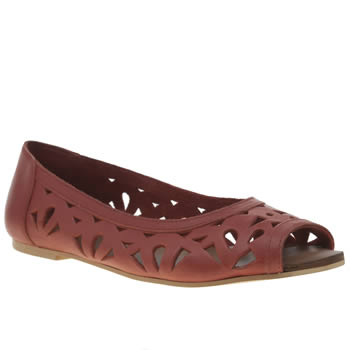Womens Schuh Red Starry Eyed Flats