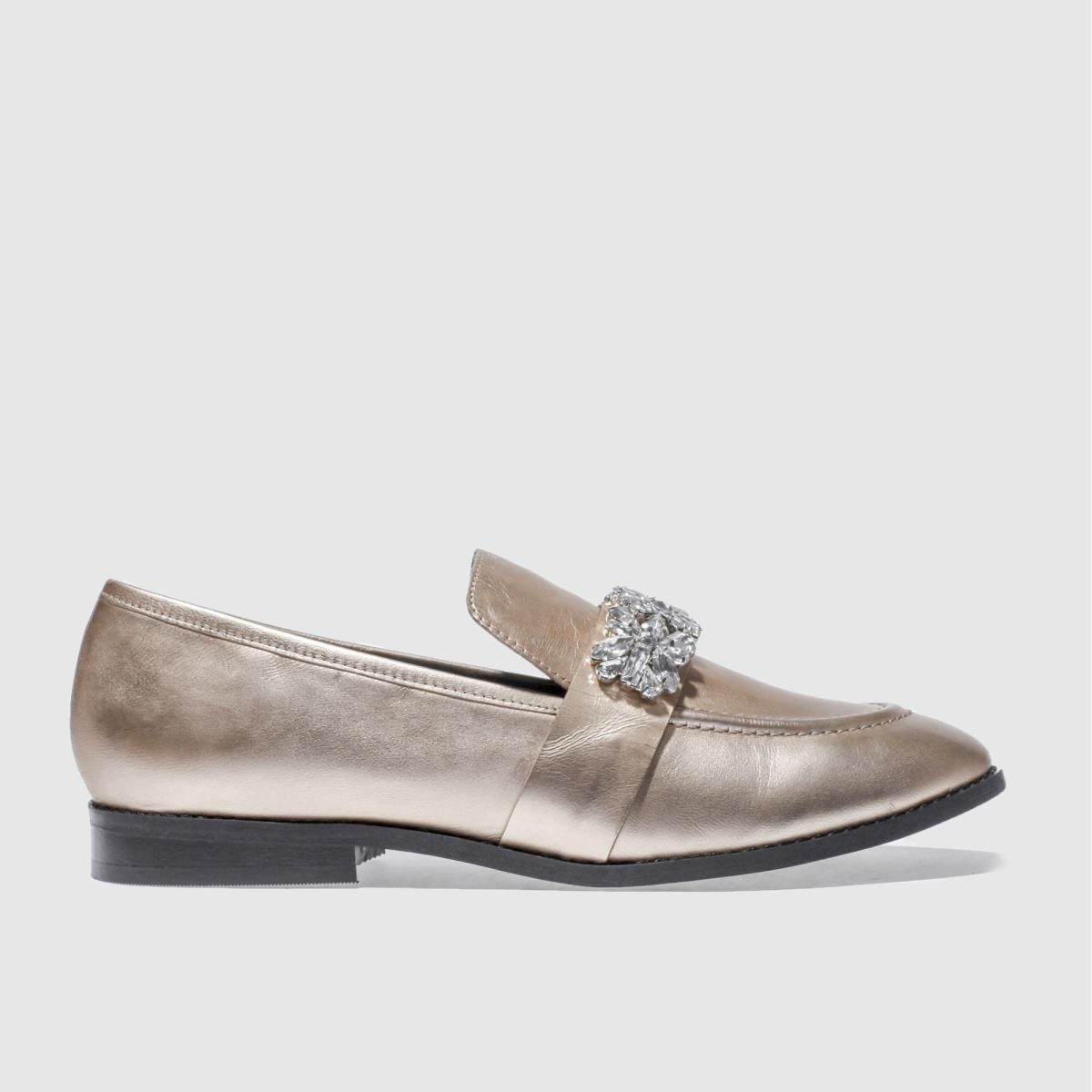 schuh gold lavish flat shoes