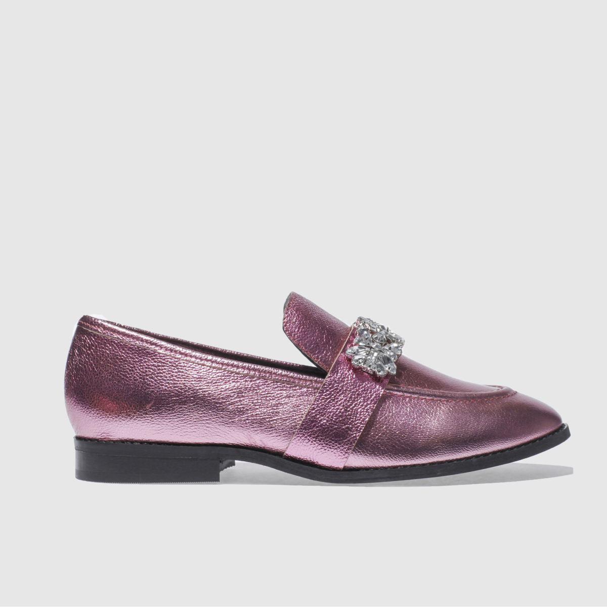 schuh pink lavish flat shoes