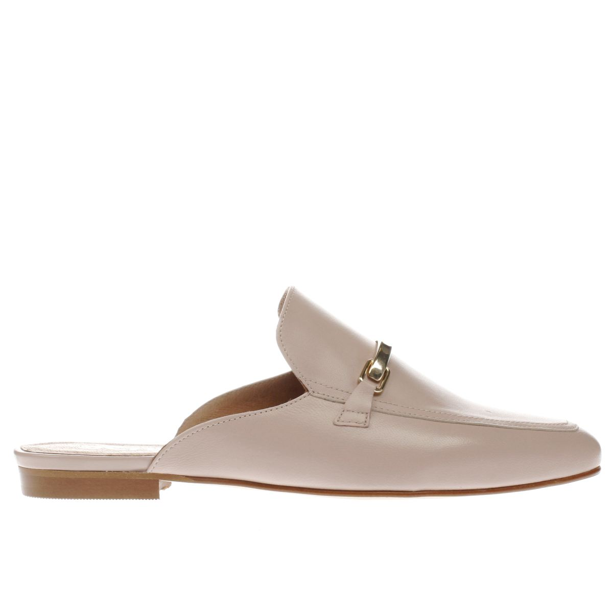 schuh pale pink ritzy flat shoes