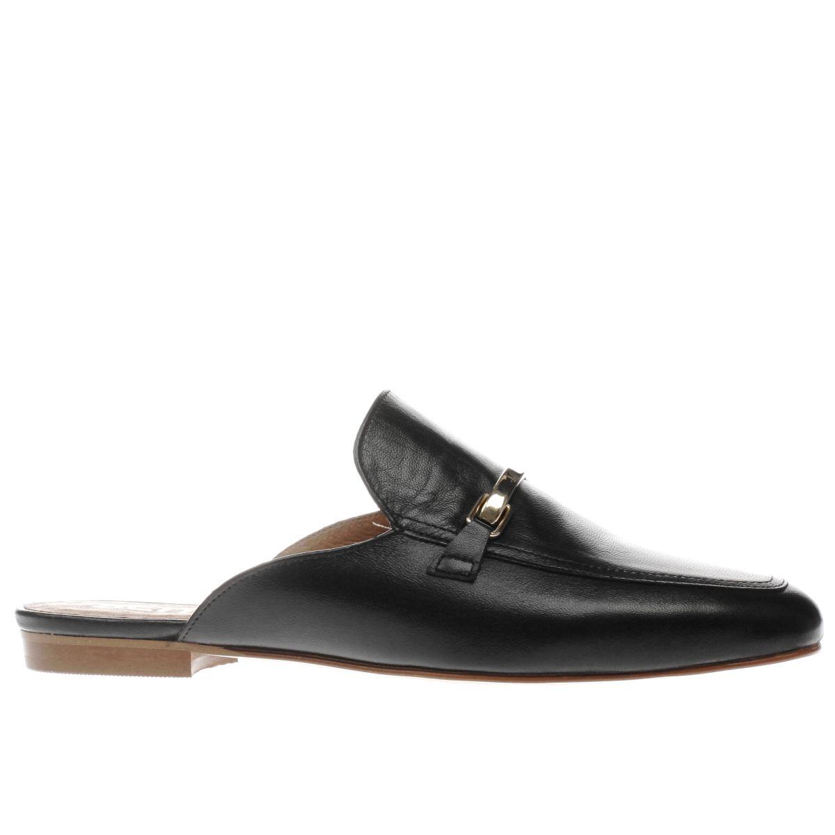 schuh black ritzy flat shoes