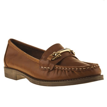 womens schuh tan lounge around flat shoes