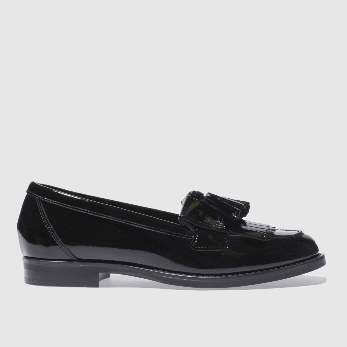 Schuh Black Compass Flat Shoes