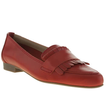 Womens Schuh Red Admire Flats