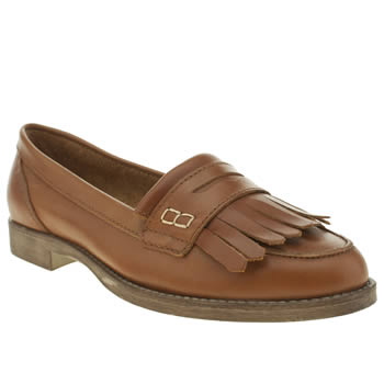 Schuh Tan Knowledge Flats