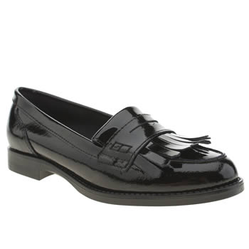 Schuh Black Knowledge Flats