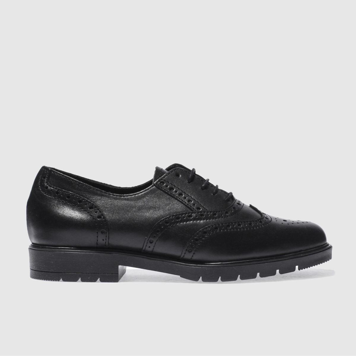 schuh black house party flat shoes