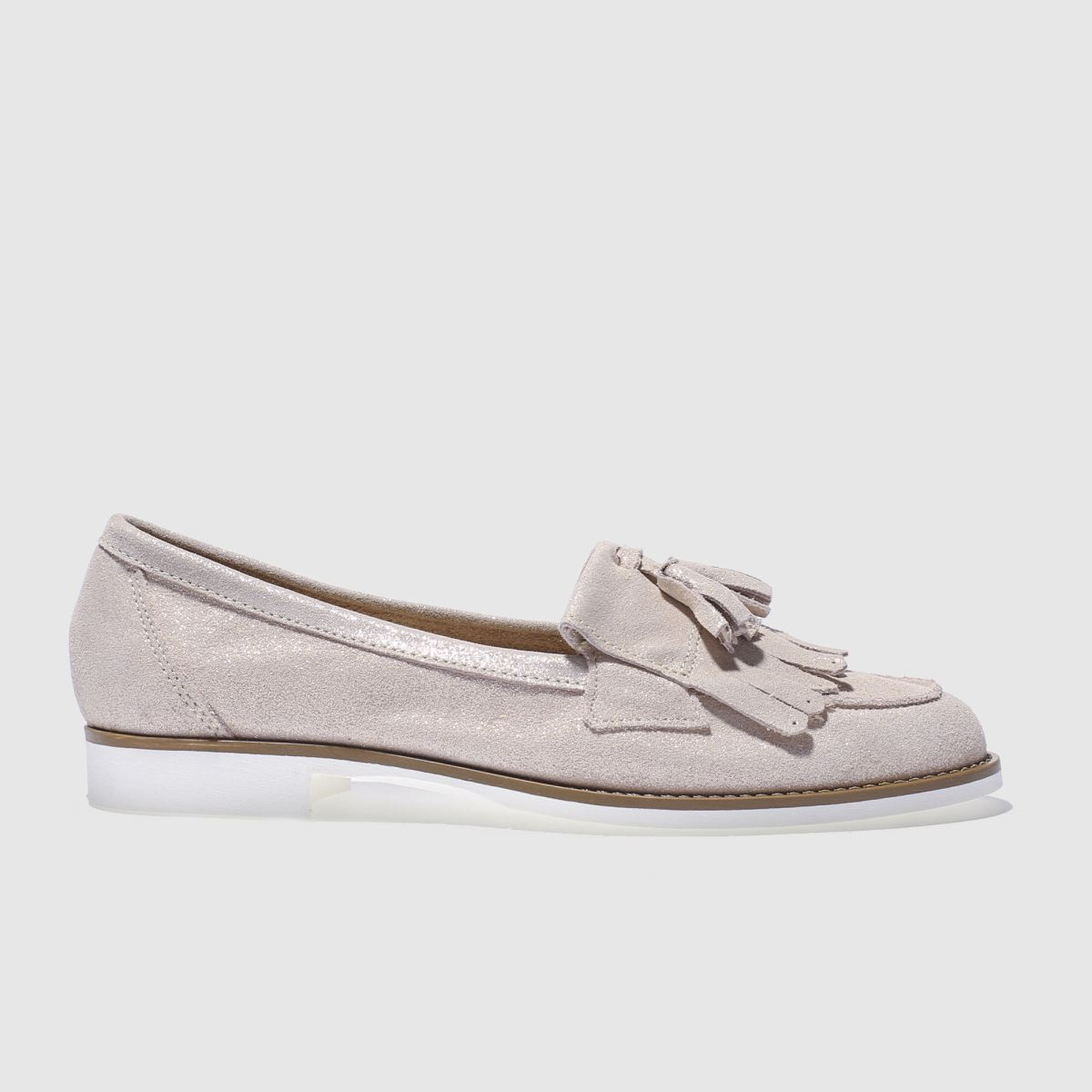 Schuh Pale Pink Compass Flat Shoes
